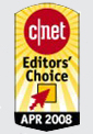 CNET Editors' Choice April 2008