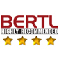 BERTL 4 Star Highly Recommended