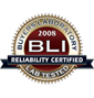 BLI 2008 Reliability Certified