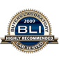 BLI 2009 Highly Recommended Seal