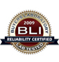BLI 2009 Reliability Seal