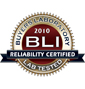 BLI 2010 Reliability Seal