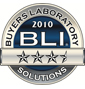 BLI 2010 Solutions 3 1/2 Star Award