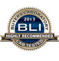 BLI 2013 Highly Recommended