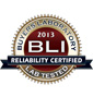 BLI 2013 Reliability Seal