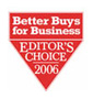 Better Buys for Business 2006 Editor's Choice Award