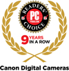 PC Magazine Readers' Choice 9 Years in a Row