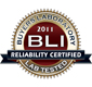 2011 BLI Reliability Seal