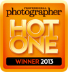 Professional Photographer 2013 Hot One Award