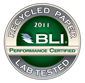 2011 BLI Recycled Paper - Lab Tested