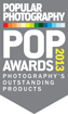 Popular Photography 2013 Pop Award