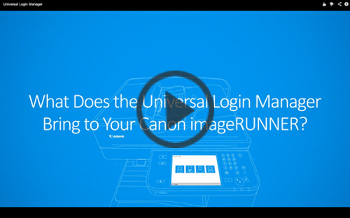 Universal Login Manager Video