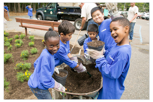 Lakeland County Park  - Kids Potting