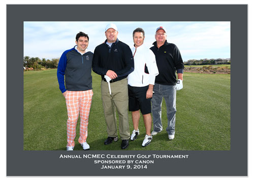 Former major league baseball pitcher Roger Clemens enjoys a game of golf
