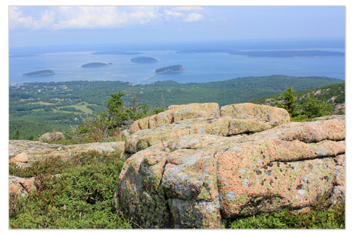 Porcupine Islands from Cadillac Mt
