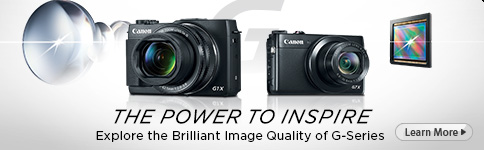 THE POWER TO INSPIRE - Explore the Brilliant Image Quality of G-Series - Learn More >