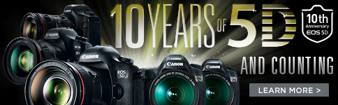 10 Years of EOS 5D Series