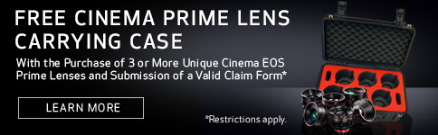 Free Cinema Prime Lens Carrying Case
