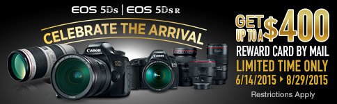 EOS 5DS and EOS 5DSR Celebrate the Arrival