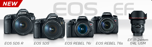 NEW EOS 5DS R, EOS 5DS, EOS REBEL T6i, EOS REBEL T6s, EF 11-24mm f/4L USM >