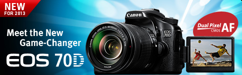 Meet the New Game-Changer EOS 70D