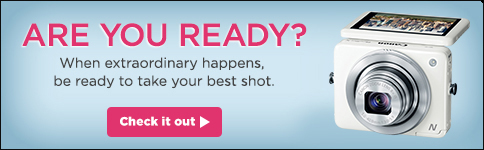 Are You Ready? When extraordinary happens, be ready to take your best shot. Check it out!