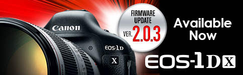 EOS-1DX Firmware Update Ver. 2.0.3 AVAILABLE NOW
