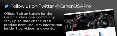 Official Twitter handle for the Canon Professional community. Stay up-to-date on the latest product news, industry information, insider tips, videos, and events. >>>