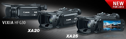 New Professional Camcorders - 2013