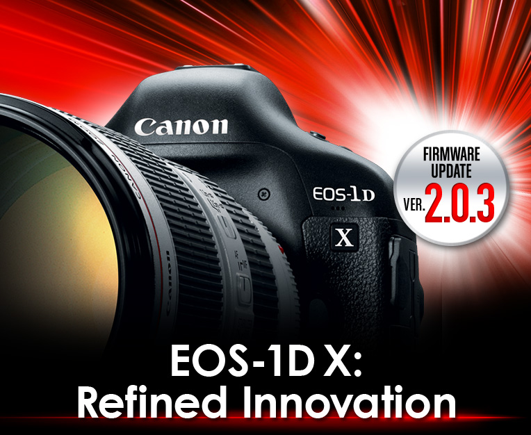 EOS-1DX: Refind Innovation