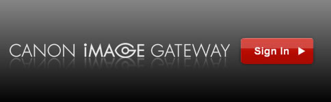 Sign In To CANON iMAGE GATEWAY!