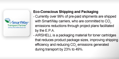 Eco-Concious Shipping and Packaging