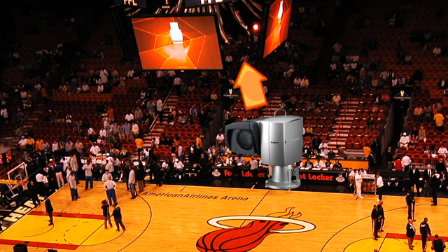 Canon BU-45H Robotic Cameras Give Miami Heat Sports Games An All-too Human Touch