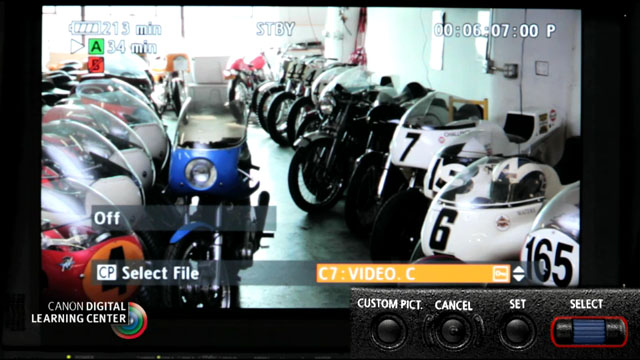 Handhelp Operation of the XF Series Pro Camcorders