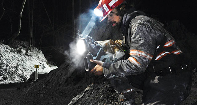 Rugged and Reliable Canon XF305 Professional HD Camcorders Document the Dangerous World of Coal Miners for a Reality TV Series