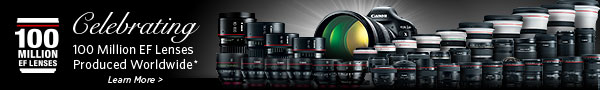 Celebrating 100 Million EF Lenses Produced Worldwide