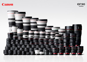 Canon EF lens-series lineup