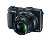 The PowerShot G1 X Mark II digital camera, providing high-quality imaging performance