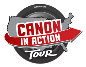 Canon In Action Tour logo