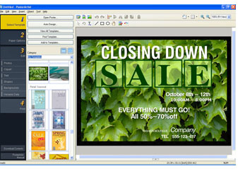 Poster Artist Screen Shot