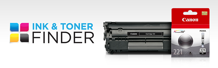 Canon Ink Tank & Cartridge Finder