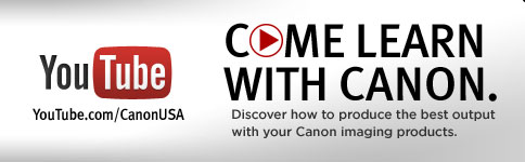 Come Learn With Canon On Youtube