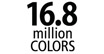 16.8 Million Colors : Dye-sub printers can mix the colors from the cyan, magenta and yellow ink ribbons to reproduce 16.8 million colors.