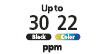 Up tp 30 PPM : Print up to 30 Pages Per Minute Black & White, or 22 in color.