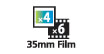 35mm 4 x 12 : Maximum 6 consecutive frames of 35 mm negatives or positives, or 4 consecutive frames of mounted slides, can be scanned.