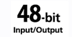 48-Bit : Rich, vivid color - 48-bit color depth yields over 281 trillion possible colors.