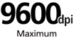 9600 dpi : Maximum print resolution - Realizes the maximum resolution of 9600 x 2400 dpi. Provide premium photo quality, combined with microscopic ink droplets