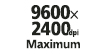9600x2400dpi : Exceptional resolution: 3,584 Precision nozzles create exceptional resolution - up to 9600 x 2400 color dpi. More nozzles = high quality.