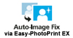 Auto Image Fix with Print EX Software