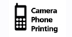 Camera Phone Printing : Snap and print, wirelessly right from your mobile camera phone.